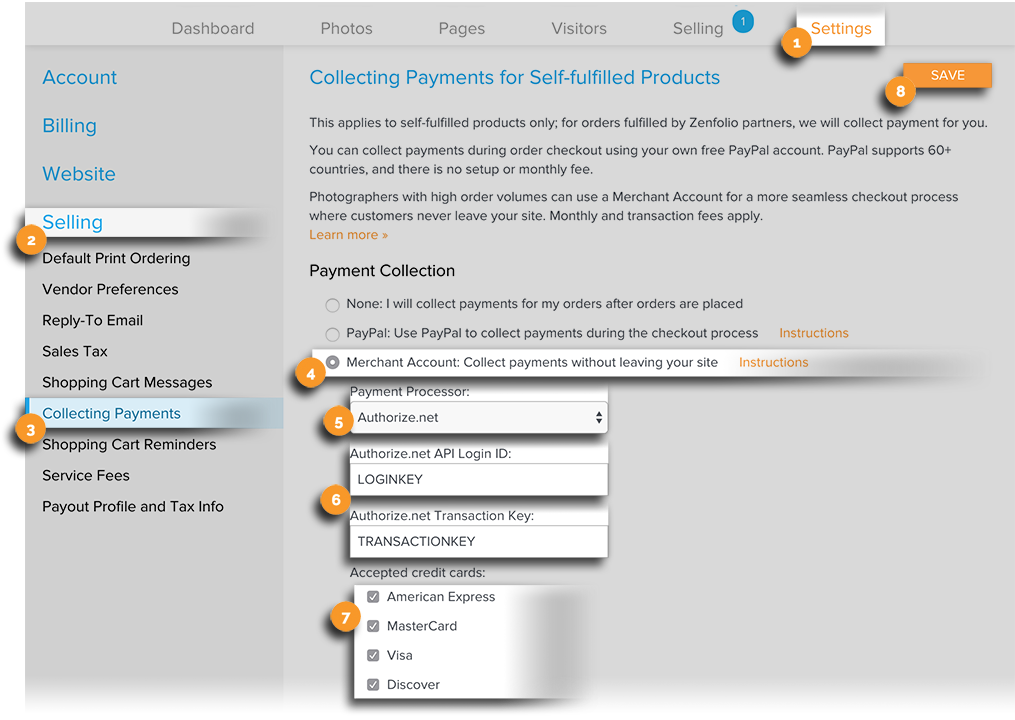 SF Payments Authorize.net