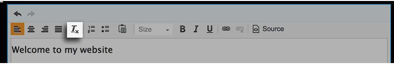 Text Box Tools Clear Formatting