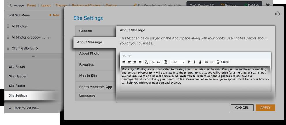 Text Box Example