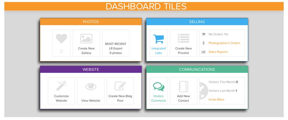 Dashboard Tiles
